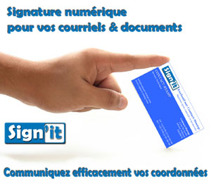 Sign'it : la signature num�rique