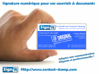 Signature num�rique courriel & document